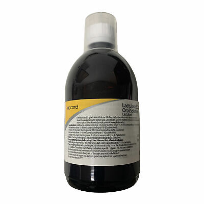 Accord Lactulose Constipation Relief Laxative Solution - 500ml • 9.99£