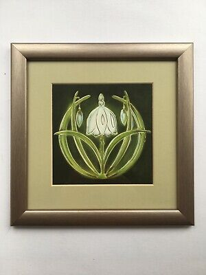 Past Times Snowdrops Framed Picture • 11.99£
