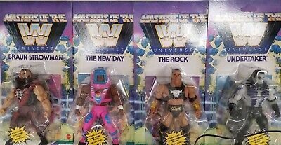 $143.39 • Buy Masters Of The WWE Universe The Rock, Undertaker, Braun Strowman The New Day Set