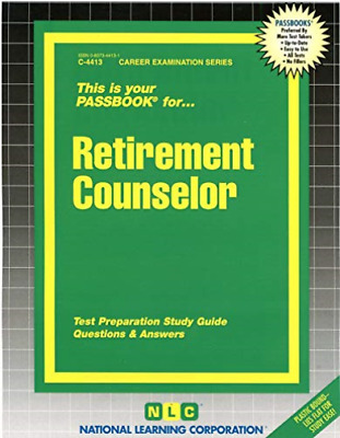 £30.98 • Buy National Learning Corporation-Retirement Counselor (US IMPORT) BOOK NEW