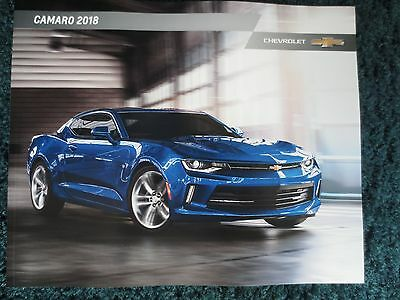 $5.99 • Buy 2018 Chevrolet Camaro Ss 1le Zl1 Redline Edition Showroom Brochure New And Cool