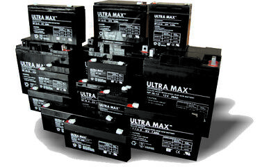 Ultramax 12V / 6V 1Ah To 130Ah Mobility And Scooter Batteries • 23.89£