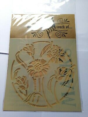 Bloom Mask/Stencil For Craft, Paper Craft And Mixed Media By That Special Touch • 4.75£