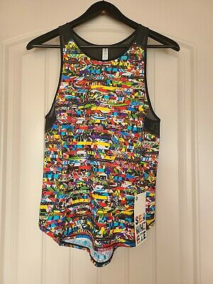 $ CDN150 • Buy LULULEMON Seawheeze Sculpt Tank. Multi Color LEGO. Size 4. VERY RARE!