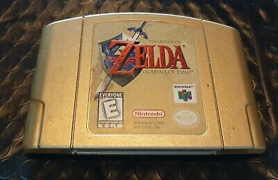 $43 • Buy Legeng Of Zelda Ocarina Of Time Gold Edition(n64) Cartridge Only And Tested