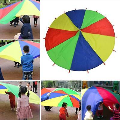 £18.59 • Buy 3m Kids Play Outdoor Game Exercise Group Activity Sports Toy Rainbow Parachute
