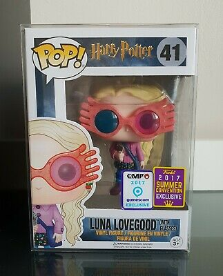 Funko Pop! Harry Potter - Luna Lovegood With Glasses SDCC 2017 + Free Protector • 216.78£