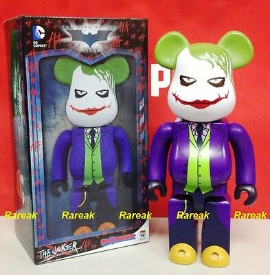 $239.99 • Buy Medicom Be@rbrick DC Batman The Dark Knight 400% Joker Why So Serious Bearbrick