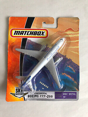 Matchbox Skybusters Boeing 777-200 'Continental' Air Plane - Sealed Boxed  • 0.99£