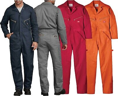 $44.99 • Buy Dickies 48700 Deluxe Coveralls Mens Cotton Twill Long Sleeve Work NWT New W Tags