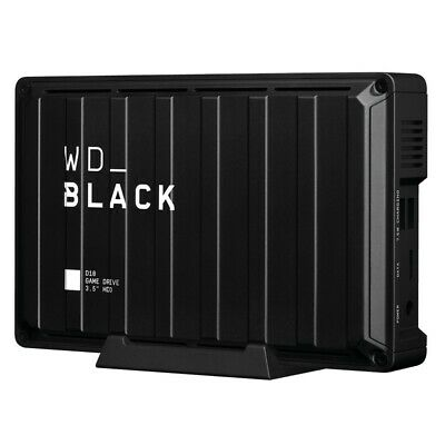 AU399.90 • Buy Western Digital WD Black 8TB D10 Game Drive For Xbox One External Hard Drive
