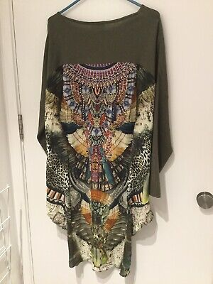 AU173.50 • Buy Camilla One Size Silk Back Jumper.perfect Condition,