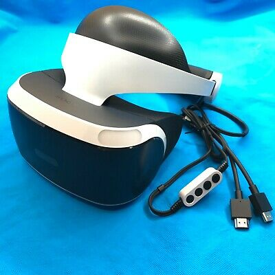 AU248.66 • Buy Sony PlayStation VR PS4 Virtual Reality Headset ONLY CUH-ZVR1 PSVR ⚡✈️ SHIPS ASA