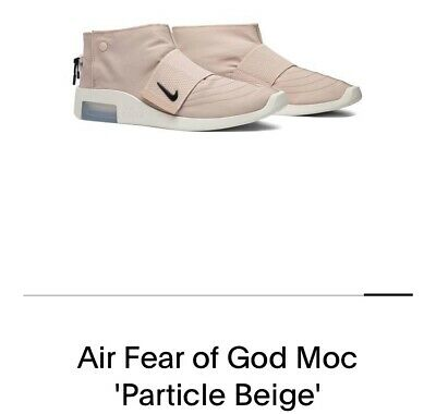 $29.99 • Buy Nike Air Fear Of God Moc 'Particle Beige' Mens Size 10.5