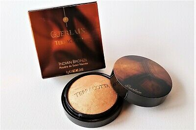 GUERLAIN TerraCotta INDIAN BRONZE Pearly Sun Powder For Face & Body • 53.81£