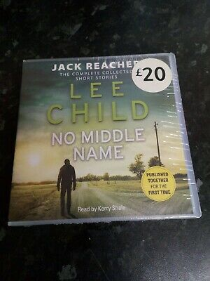 Jack Reacher 12 No Middle Name By Lee Child CD Audio Book  Short Stories Sealed • 17.97£