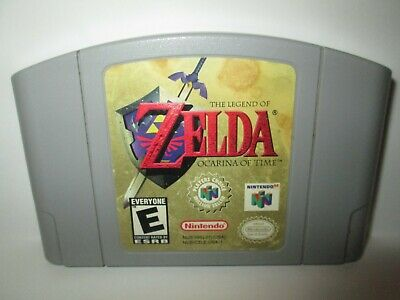 $43.99 • Buy Zelda: Ocarina Of Time - Nintendo 64 N64 Game Only Authentic Tested