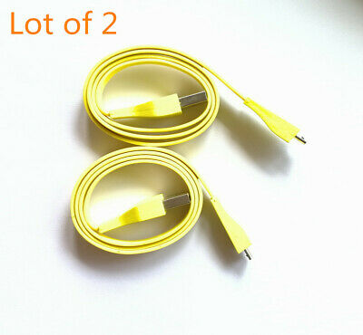 AU13.11 • Buy 2x For Logitech UE BOOM MEGA Bluetooth Speaker PC/DC Charger Micro USB Cable 2ft