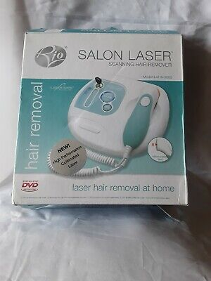 RIO SALON X20 LASER HAIR Remover Model LAHS-3000 FREE PNP A1 UK CHECKED ☆☆☆☆☆☆☆☆ • 52.99£