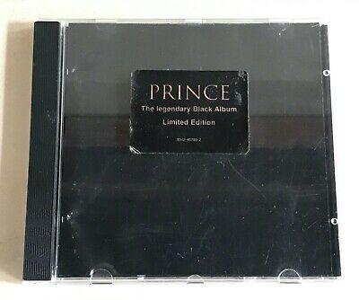 Prince The Legendary Black Album Limited Edition CD. USED. Good Condition. • 25£