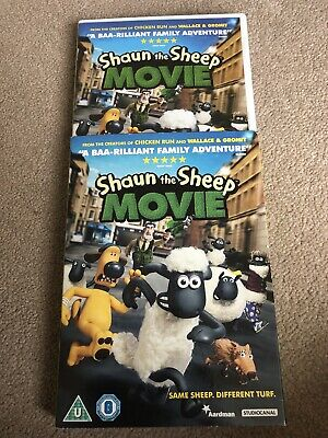 Shaun The Sheep Movie DVD • 0.50£