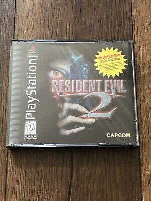 $39.99 • Buy Resident Evil 2 Greatest Hits Disks (PlayStation 1 PS1, 1998), Complete, Tested