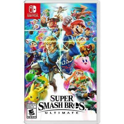$44 • Buy Nintendo Switch Super Smash Bros Ultimate Game 2018 With Game Case