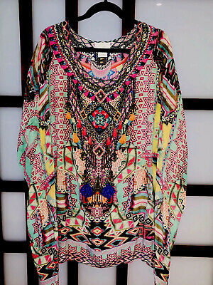 AU230 • Buy CAMILLA Mochilla Chiller Kaftan RRP $549. WORN ONCE! Sold Out. Bargain Price!