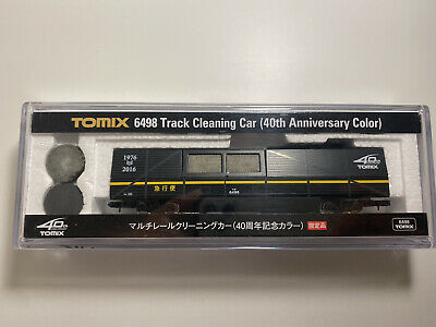 AU205 • Buy TOMIX N Gauge 6498 Multi-rail Cleaning Car 40th Anniversary [Limited Edition]