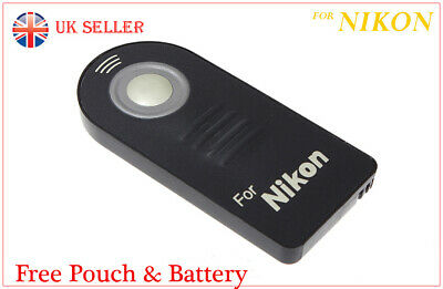 Remote Control  For NIKON As MLL3 IR Wireless COOLPIX A, P900, 1, J1, J2, V1 V2  • 9.99£