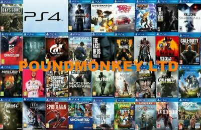 PS4 Games Playstation 4 BUY ONE OR BUNDLE UP MINT Super Fast Delivery • 34.99£
