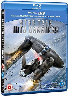 AU18.53 • Buy Star Trek Into Darkness 3d Uk Bluray Includes 2d Disc Brand New And Sealed
