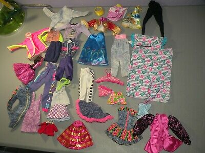 $ CDN34.79 • Buy Large Lot Of Vintage Mattel Barbie Clothing Jacket Pants Skirts B