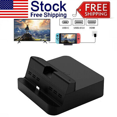 $19.39 • Buy Dock Stand For Nintendo Switch Table Charger Docking Portable Switch TV Mode Kit