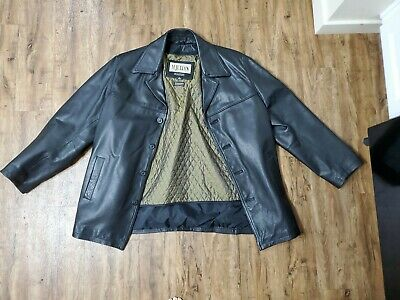 $49.99 • Buy Wilsons M Julian Thick Black Leather Jacket Thinsulate Liner Supernatural - Sz L