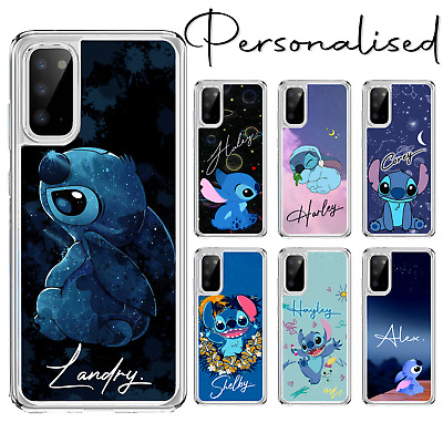Personalised Lilo Stitch Case For Galaxy A10 A40 S20 A41 A51 A80 A20e • 6.99£