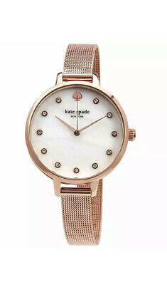 $ CDN125.28 • Buy Kate Spade Metro MOP Crystal Dial Ladies Watch KSW1492