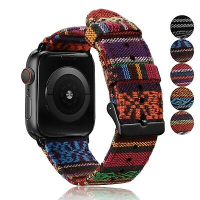 AU21.99 • Buy Apple Watch IWatch Series 1 2 3 4 5 Stylish Replacement Strap Band 38 40 42 44m