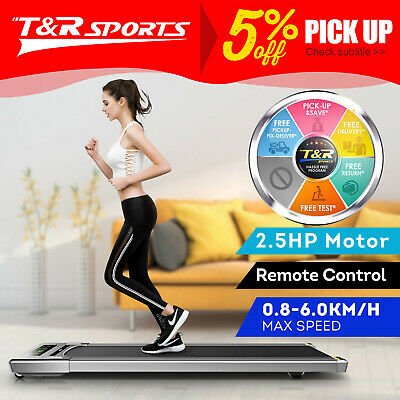 AU449.99 • Buy T200 2-in-1 Electric Treadmill Under Desk Home Office Exercise Walking Machine