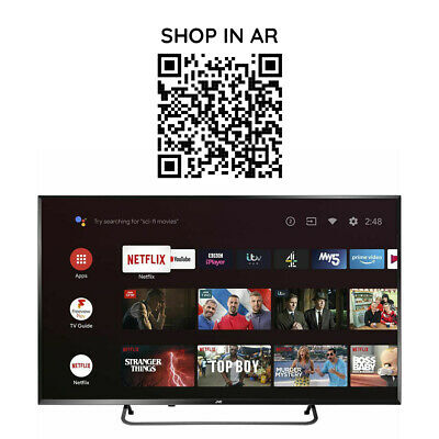 £379.99 • Buy JVC LT-50CA890 Android TV 50  Smart 4K Ultra HD HDR LED TV With Google Assistant