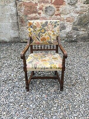 Vintage French Armchair / Carver Chair  / Desk Chair • 145£