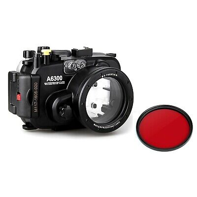 AU135 • Buy Meikon 40m/130ft Underwater Camera Diving Housing Case For Sony A6300 16-50mm