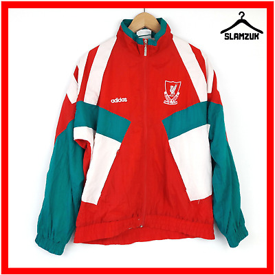 £99.99 • Buy Liverpool Football Jacket Adidas 34-36 Training Soccer Anthem Track Top S 1990s