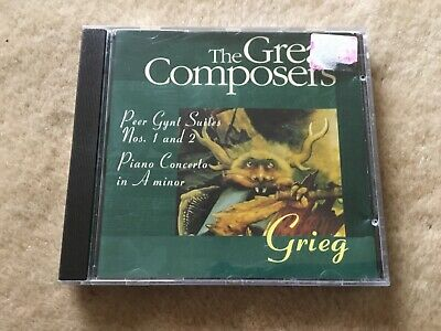 The Great Composers Grieg Cd • 3£