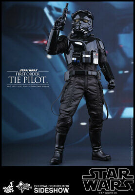 $179.99 • Buy Star Wars First Order TIE Pilot 1/6 Hot Toys Sideshow 902555 MMS324 - NIB!!!!!