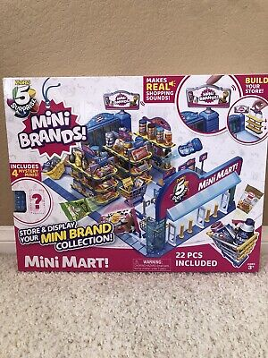 $ CDN53.69 • Buy 5 Surprise Mini Brands BALL MINI MART By ZURU Store & Display Your Mini Brands