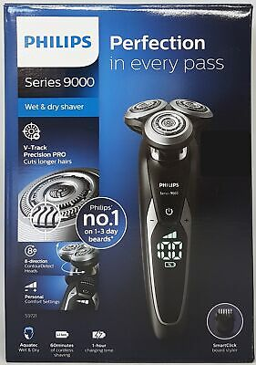 View Details Philips S9721/41 Series 9000 Electric Wet And Dry Shaver Chrome New • 185.84£