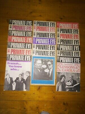 Private Eye Magazine 1978, 21 Issues Between 419 And 444 • 15£