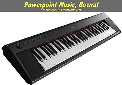 AU379 • Buy Yamaha NP12 Piaggero 61-Note Piano-Style Portable Keyboard