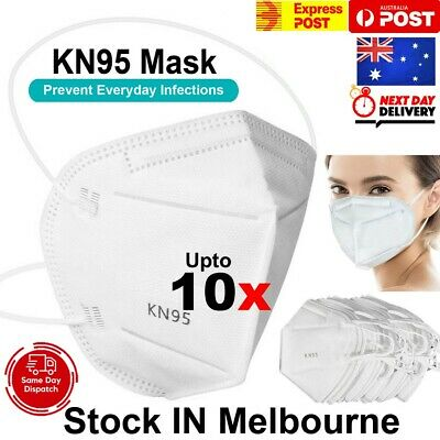 AU18.49 • Buy Reusable KN95 Unisex Face Mask Mouth Masks Non Woven 5 Layers Filter AU STOCK